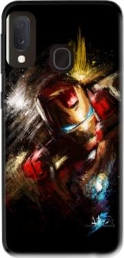 Grunge Ironman Case for Samsung Galaxy A20E