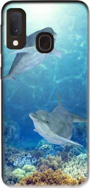 happy dolphins Case for Samsung Galaxy A20E