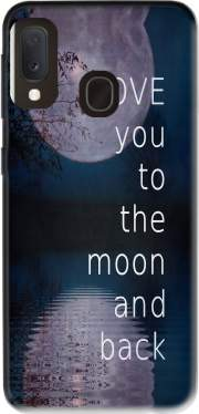 I love you to the moon and back Case for Samsung Galaxy A20E