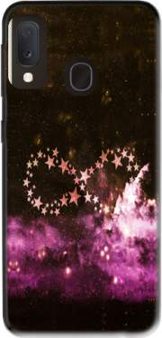 Infinity Stars purple Case for Samsung Galaxy A20E