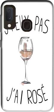 Je peux pas jai rose Vin Case for Samsung Galaxy A20E