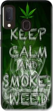Keep Calm And Smoke Weed Case for Samsung Galaxy A20E