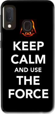 Keep Calm And Use the Force Case for Samsung Galaxy A20E