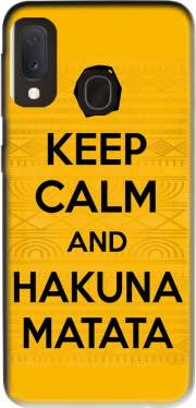 Keep Calm And Hakuna Matata Case for Samsung Galaxy A20E