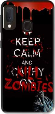 Keep Calm And Kill Zombies Case for Samsung Galaxy A20E