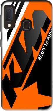 KTM Racing Orange And Black for Samsung Galaxy A20E