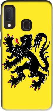 Lion des flandres Case for Samsung Galaxy A20E
