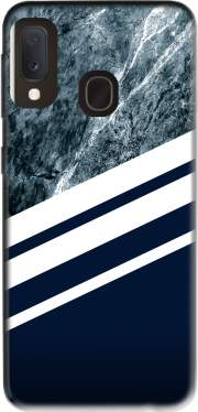 Marble Navy Case for Samsung Galaxy A20E
