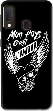 Mon pays cest lamour Case for Samsung Galaxy A20E