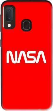 Nasa Red Logo Fail Case for Samsung Galaxy A20E