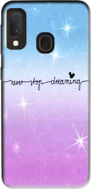 Never Stop dreaming Samsung Galaxy A20E Case