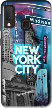 New York City II [blue] Case for Samsung Galaxy A20E