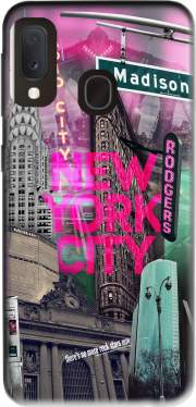 New York City II [pink] Case for Samsung Galaxy A20E
