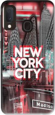 New York City II [red] Case for Samsung Galaxy A20E