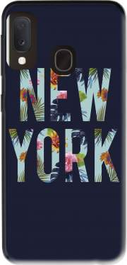 New York Floral Case for Samsung Galaxy A20E