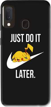Nike Parody Just Do it Later X Pikachu for Samsung Galaxy A20E
