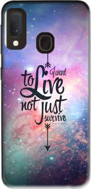 Not just survive Case for Samsung Galaxy A20E