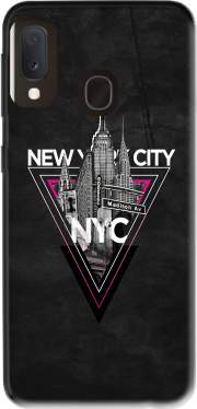 NYC V [pink] Case for Samsung Galaxy A20E