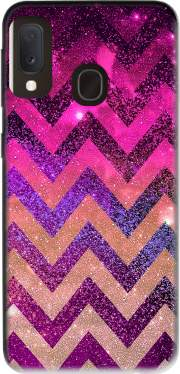 PARTY CHEVRON GALAXY  Case for Samsung Galaxy A20E