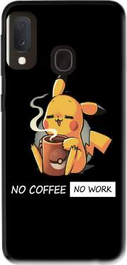 Pikachu Coffee Addict Case for Samsung Galaxy A20E