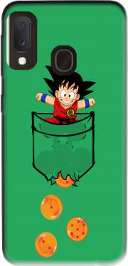 Pocket Collection: Goku Dragon Balls Case for Samsung Galaxy A20E