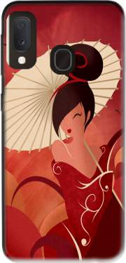 Sakura Asian Geisha Case for Samsung Galaxy A20E