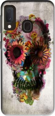 Skull Flowers Gardening Case for Samsung Galaxy A20E