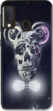 Skull Mickey Mechanics in space Case for Samsung Galaxy A20E