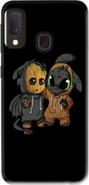 Groot x Dragon krokmou Case for Samsung Galaxy A20E