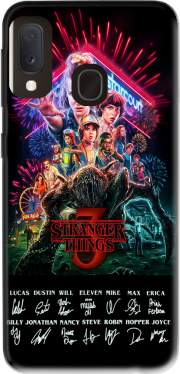 Stranger Things 3 Signature Limited Edition Samsung Galaxy A20E Case