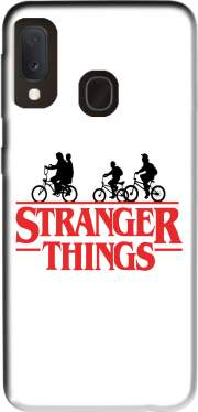 Stranger Things by bike Case for Samsung Galaxy A20E