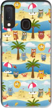 summer owls Case for Samsung Galaxy A20E