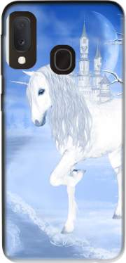 The White Unicorn Case for Samsung Galaxy A20E