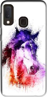 Watercolor Horse Samsung Galaxy A20E Case