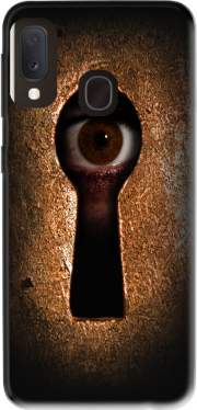 Who is watching you Case for Samsung Galaxy A20E