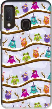 winter owls for Samsung Galaxy A20E