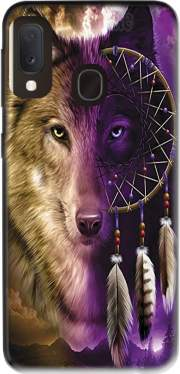 Wolf Dreamcatcher Samsung Galaxy A20E Case