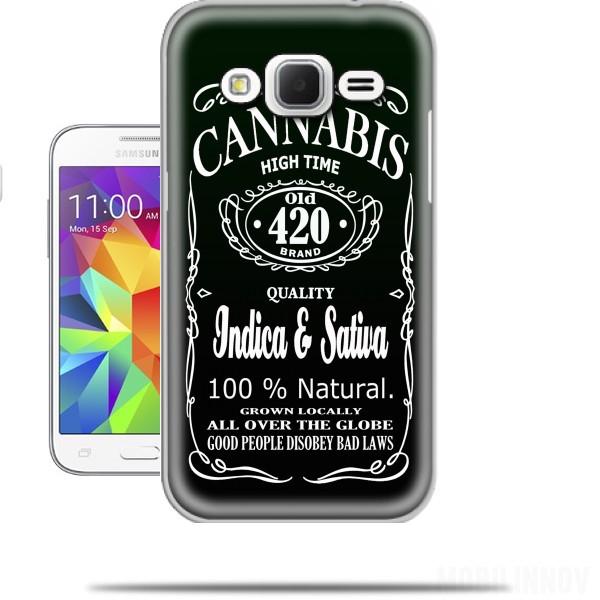 Cannabis Samsung Galaxy Core Prime Case - Wallet Case