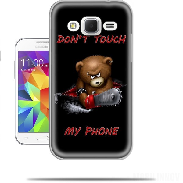 Donu0026#39;t touch my phone case for Samsung Galaxy Core Prime