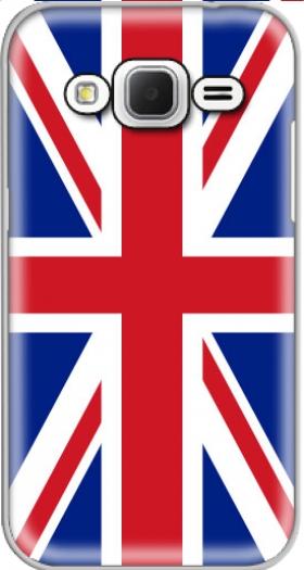 timeless design 21d36 3fa71 Flag Union Jack case for Samsung Galaxy Core Prime