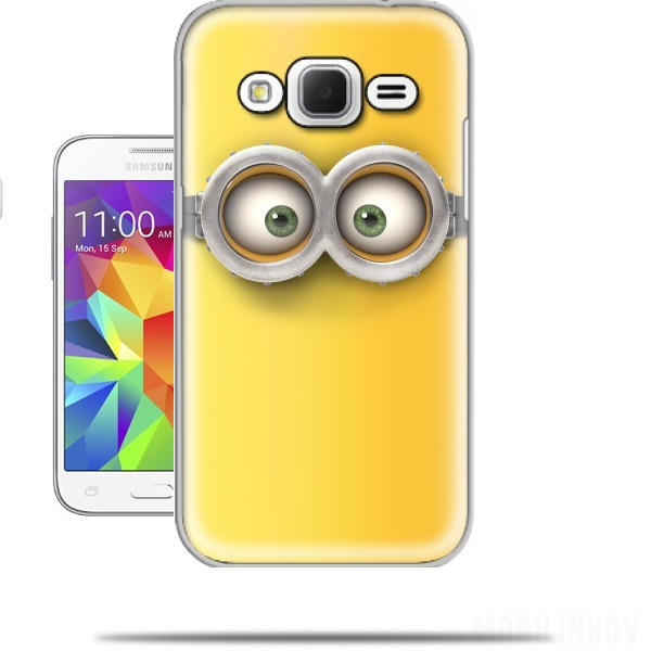 buy online 3a954 be32a minion 3d case for Samsung Galaxy Core Prime