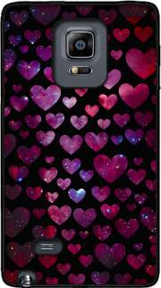 Space Hearts Case for Samsung Galaxy Note Edge