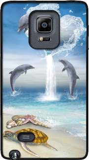 The Heart Of The Dolphins Case for Samsung Galaxy Note Edge