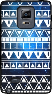 Tribal Aztec Pattern Blue Case for Samsung Galaxy Note Edge