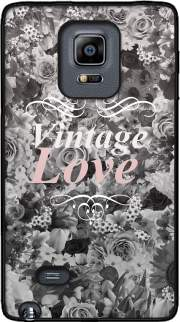 Vintage love in black and white Case for Samsung Galaxy Note Edge