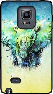 watercolor elephant Case for Samsung Galaxy Note Edge