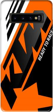 KTM Racing Orange And Black Case for Samsung Galaxy S10