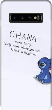 Ohana Means Family Case for Samsung Galaxy S10