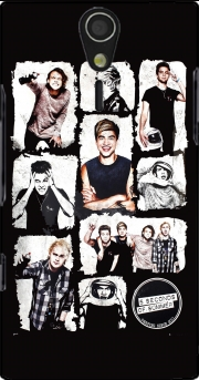 5 seconds of summer Case for Sony Ericsson Xperia S HD