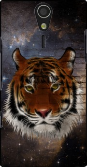 Abstract Tiger Case for Sony Ericsson Xperia S HD